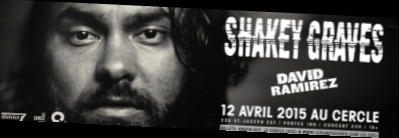 Shakey Graves - Le Cercle @ Quebec City