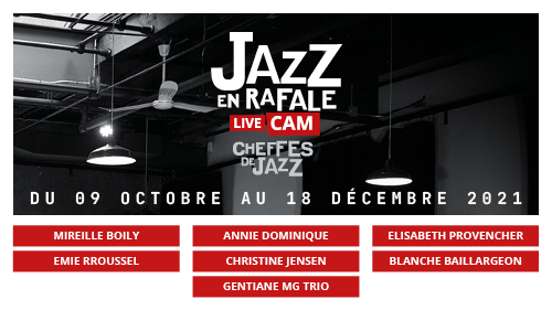 Jazz en rafale - Live Cam