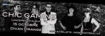 Chic Gamine - 15 octobre