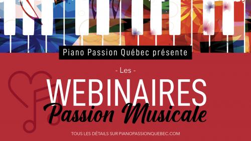 Les Webinaires Passion Musicale