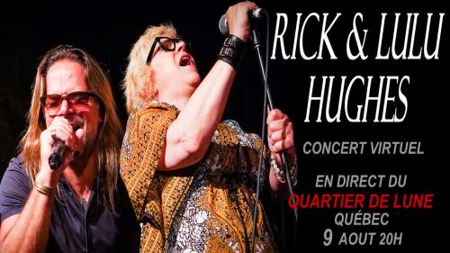 RICK & LULU HUGHES LIVE VITRUAL CONCERT