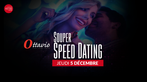 Soirée Speed Dating au Restaurant Ottavio