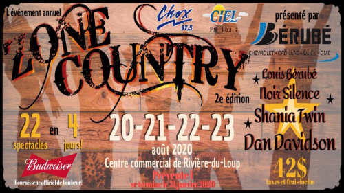 L'événement annuel Zone Country