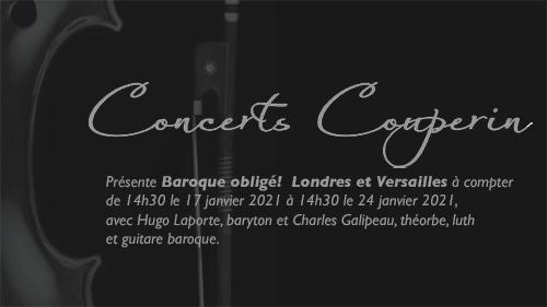 Baroque obligé ! Londres et Versailles