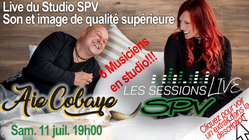Aie Cobaye - Les Sessions Live SPV