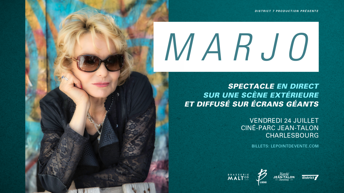 Marjo - Ciné-Parc Jean-Talon Charlesbourg