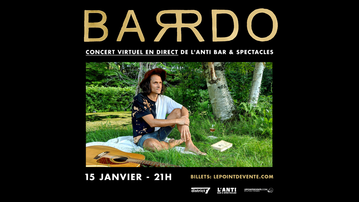 BARRDO - CONCERT VIRTUEL EN DIRECT