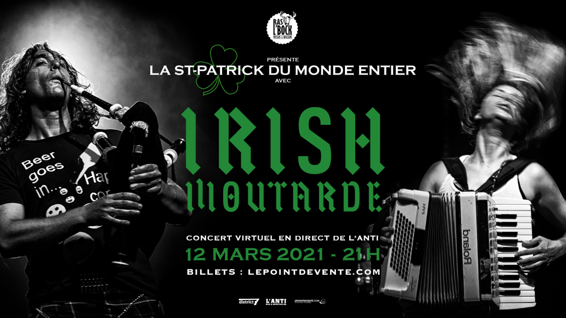 IRISH MOUTARDE - CONCERT VIRTUEL EN DIRECT